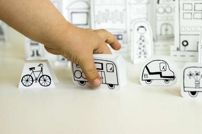 Хартиен град - превозни средства