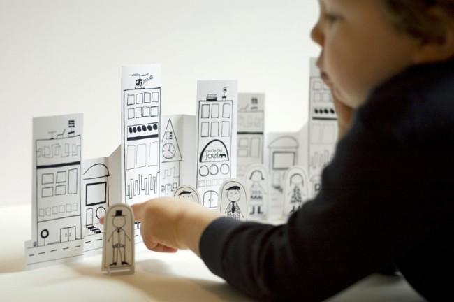 Хартиен град от Made by Joel