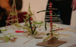 6 декември 2014г - Модел на коледна елха